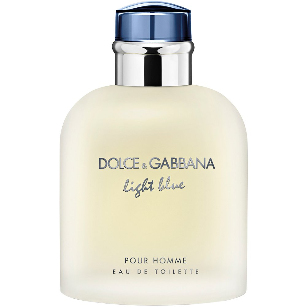 DOLCE & GABBANA LIGHT BLUE MEN EAU DE TOILETTE SPRAY