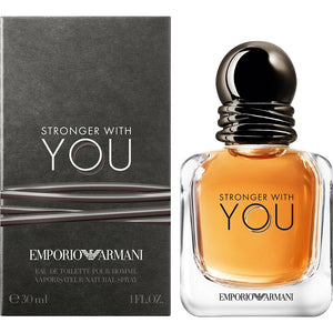 GIORGIO ARMANI STRONGER WITH YOU MEN EAU DE TOILETTE SPRAY