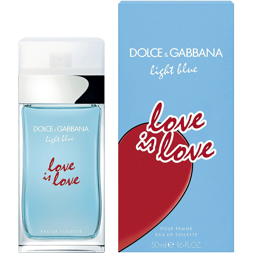 LIGHT BLUE LOVE IS LOVE WOMEN EAU DE TOILETTE SPRAY