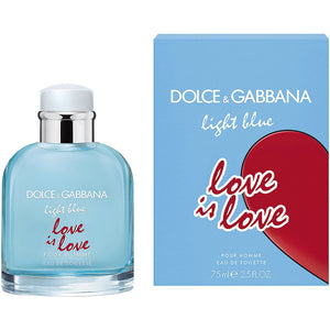 LIGHT BLUE LOVE IS LOVE MEN EAU DE TOILETTE SPRAY