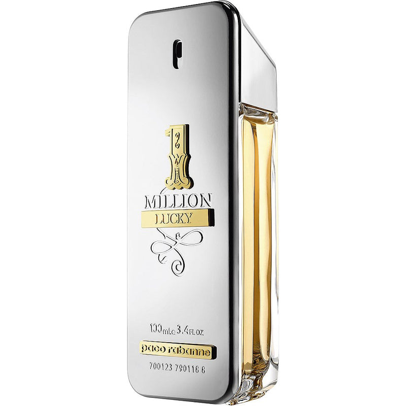 PACO RABANNE 1 MILLION LUCKY MEN EAU DE TOILETTE SPRAY