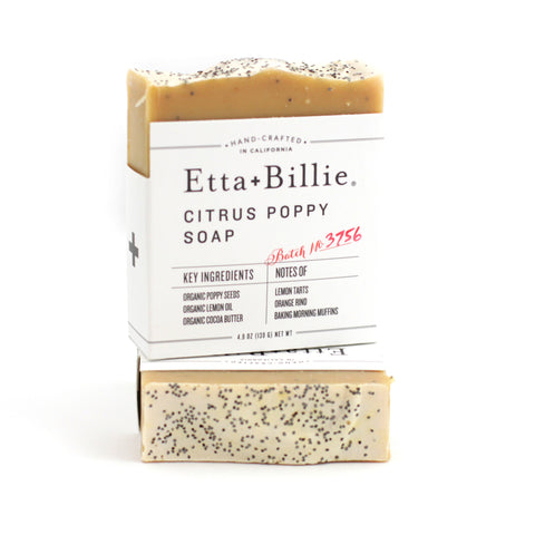 add handcrafted soap to a California custom gift - Etta + Billie Soap, made in Ventura CA