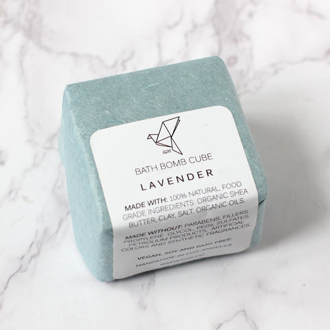 Lavender Bath Bomb, made by small local California business in Los Angeles