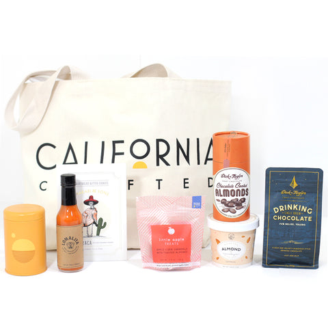 Best California Gift Baskets - Golden State Tote