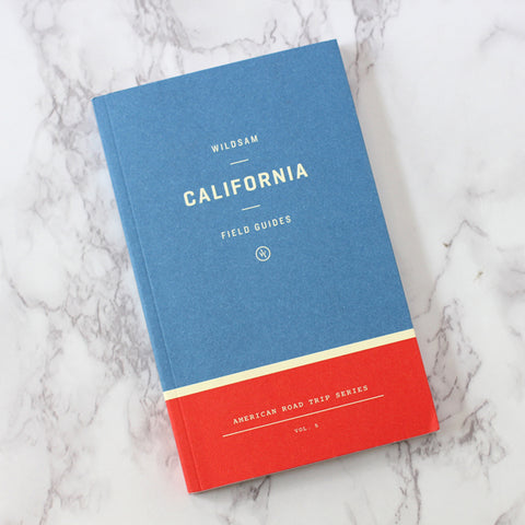 California Field Guide and Road Trip Planning Book by Wildsam