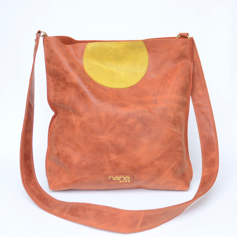 day to night bag: rust: dot collection