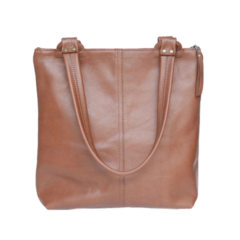 morgan tote: gingerbread