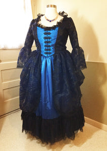 Victorian Ball Gown in Blue