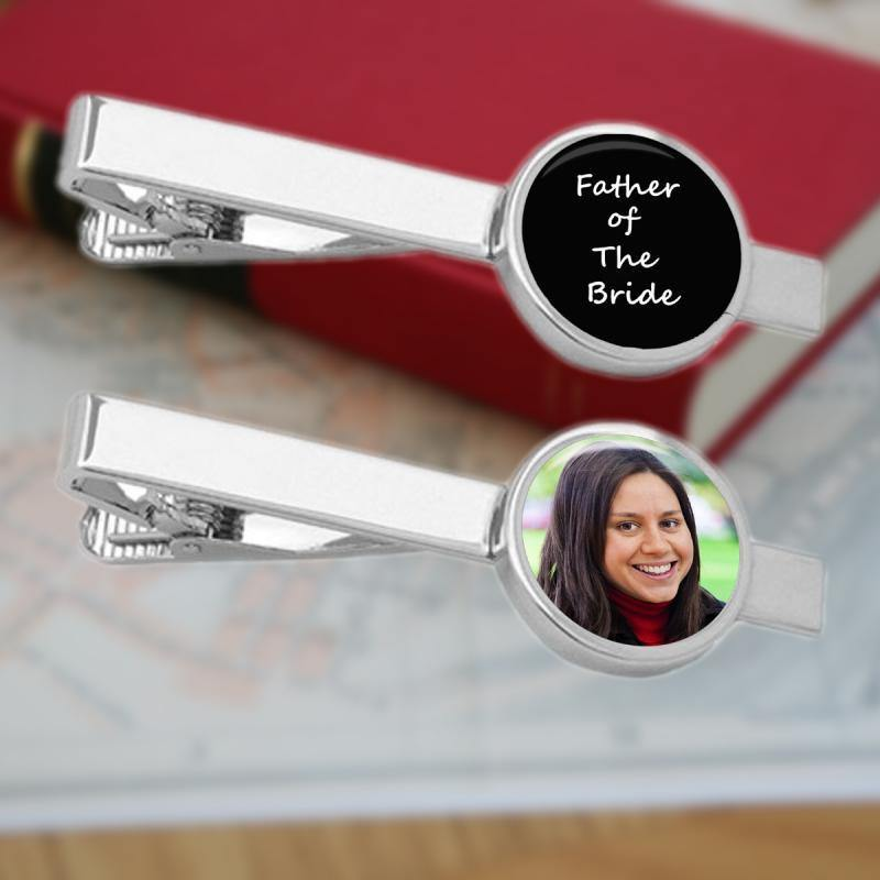 Personalised Tie Clip with Photo