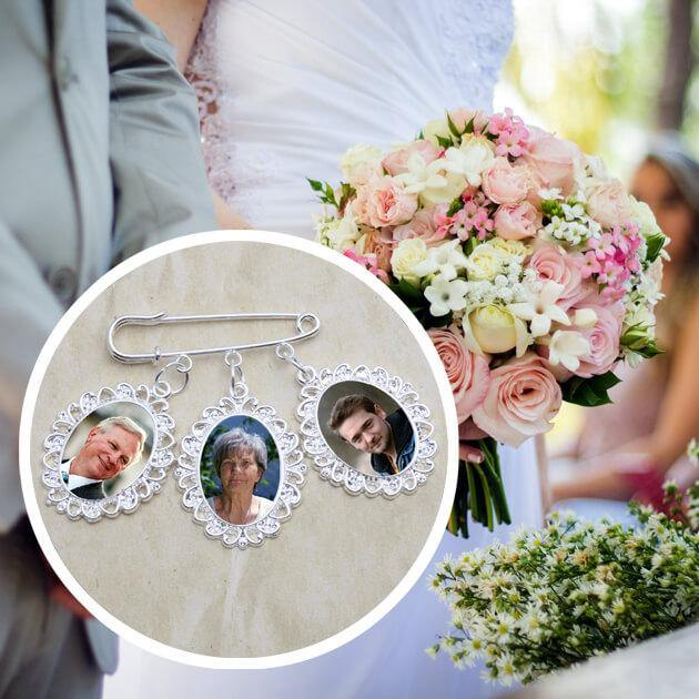 bouquet remembrance charms