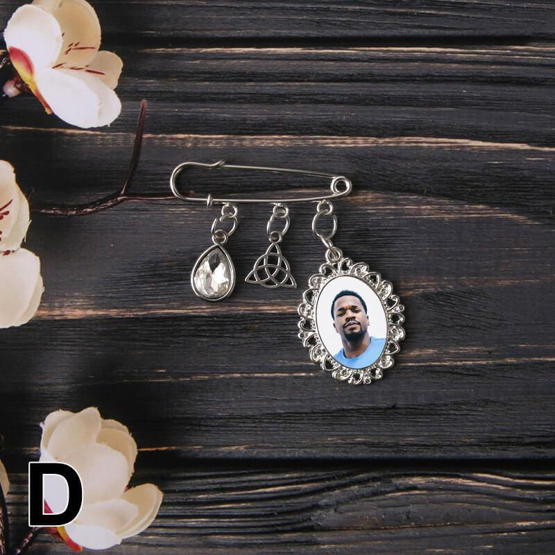 bouquet charms picture frame