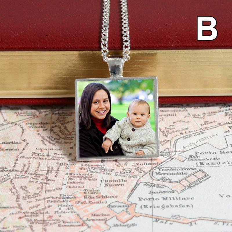 necklace with picture inside