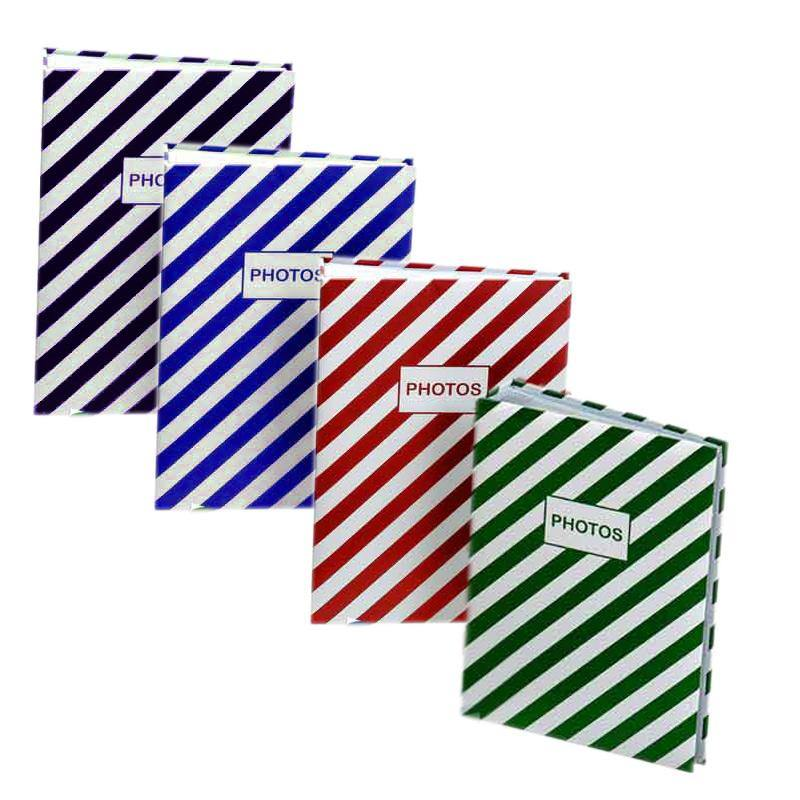 Stripe Fun Album 100 Photos 6x4inch/10x15cm Size - Photome