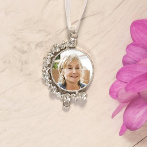 memory wedding bouquet charm