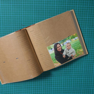 slip in page photo album