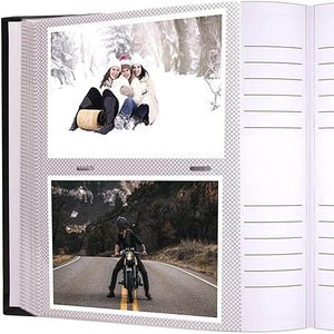 Photo album with sleeves