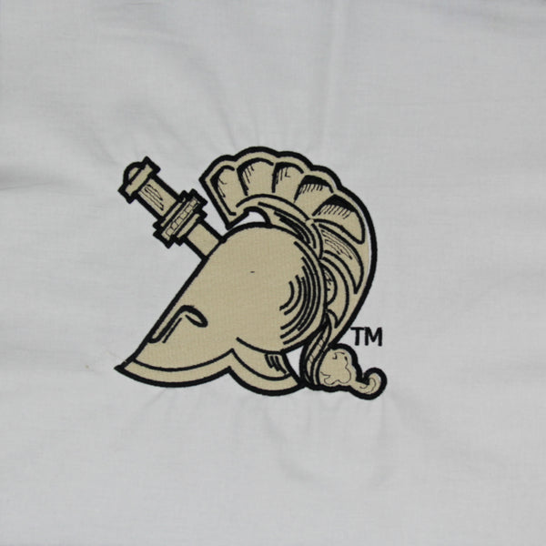 West Point Knight Helmet - Quilt Block - For Quilts or Decorator Pillows