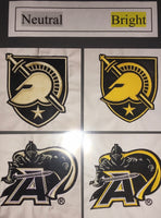 West Point Knight with Army A - Quilt Block - For Quilts or Decorator Pillows