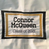 West Point Custom Old Grad Quilt - Handmade Embroidered - All American Made Fabrics