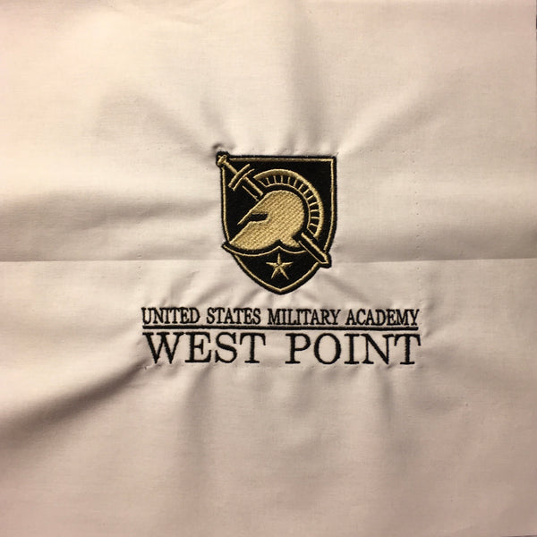 West Point Helmet & Shield USMA WP - Quilt Block - For Quilts or Decorator Pillows