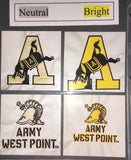 West Point Helmet Army WP - Quilt Block - For Quilts or Decorator Pillows