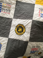 West Point Green Girl Quilt CLASS OF 2021 - Handmade Embroidered - All American Made