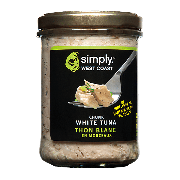 Chunk White Tuna (6 jars per case) - Simply West Coast