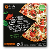 Smoked Salmon & Sweet Onion Pizza (6 pizzas per box) - Simply West Coast