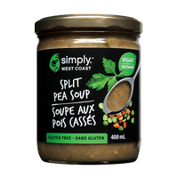 Split Pea Soup (6 jars per case) - Simply West Coast
