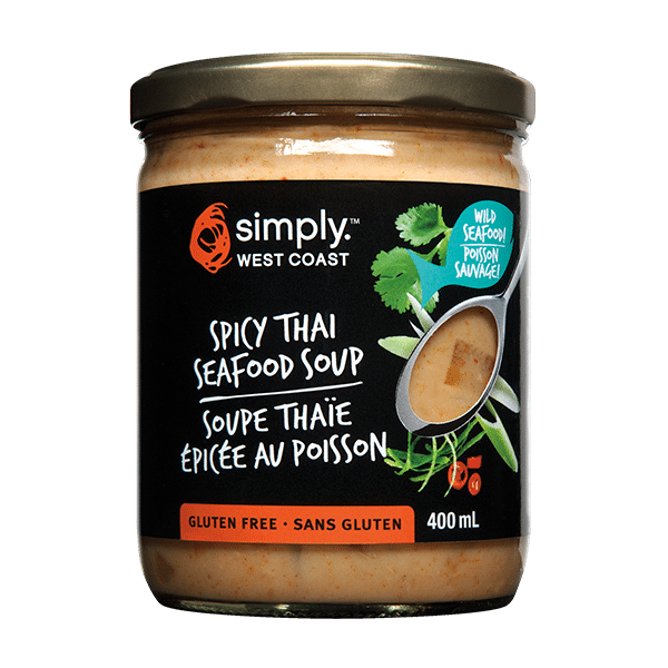 Spicy Thai Seafood Soup (6 jars per case) - Simply West Coast