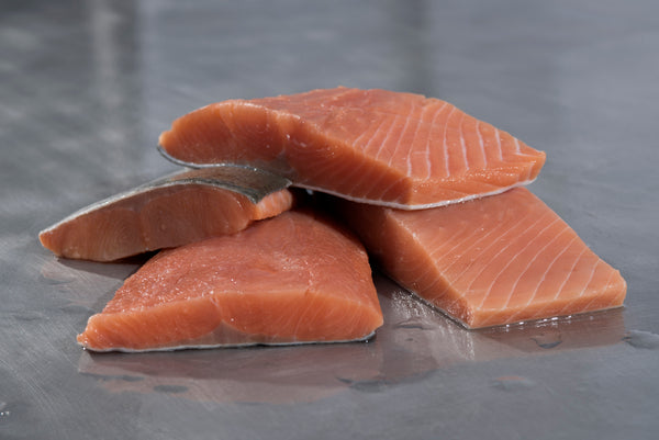 Coho Salmon Portions (10 lb case) - Simply West Coast