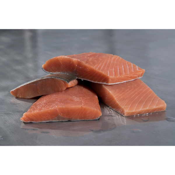 Chum Salmon Portions (10 lb case) - Simply West Coast