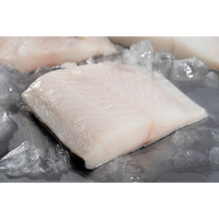 Wild Black Cod Portions - Tail/Miscut Pieces (10lb box) - Simply West Coast