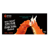 SWC Golden King Crab (6 x 1.5lb boxes) - Simply West Coast