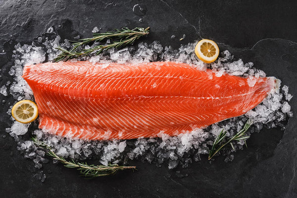Frozen Spring Salmon Fillet - Simply West Coast