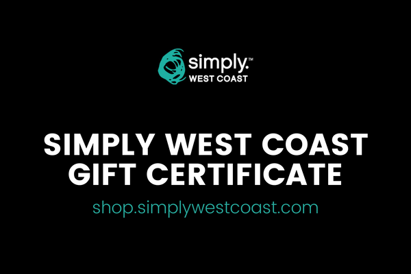 Gift card - Redeemable For Online Purchases Only - Simply West Coast
