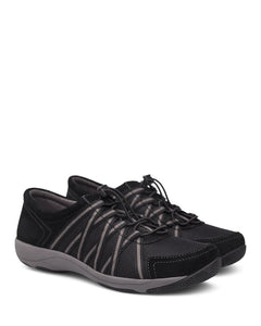 Dansko Honor Sneaker Black Suede