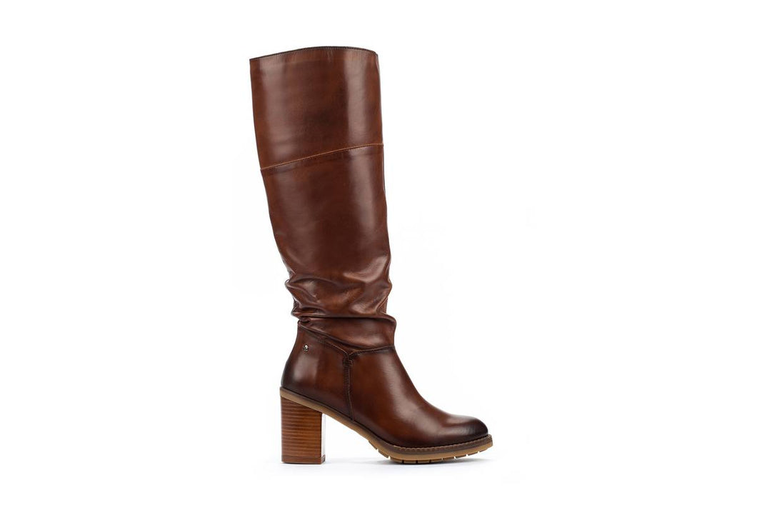 Pikolinos Pompeya W9T-9645 Tall Boot Curo (Rich Brown)
