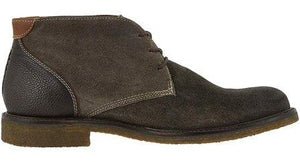 Johnston and Murphy Copeland Chukka Gray Water Resistant Oiled Suede