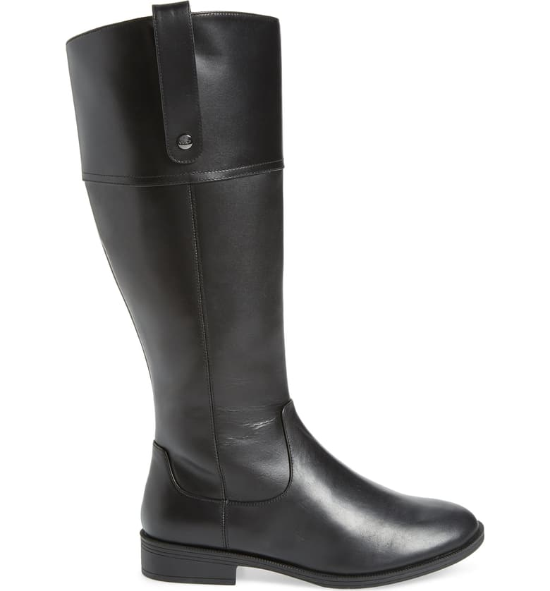 Vionic Holden Mayes Tall Riding Boot Black