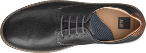 Johnston and Murphy McGuffey Plain Toe Black Full Grain Leather