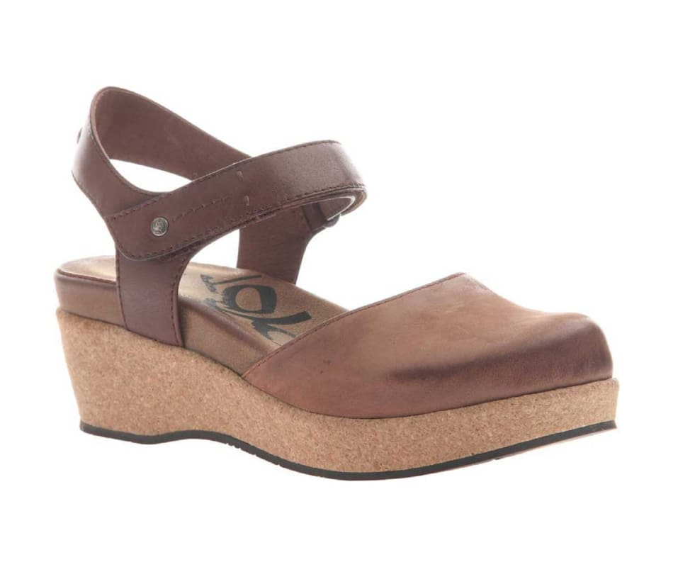 OTBT Elizabeth Mary Jane Wedge Medium Brown