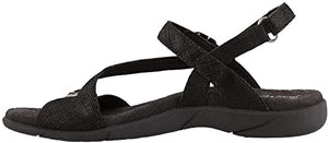 TAOS Beauty 2 Sandal Black Printed Leather