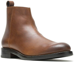 Wolverine Montague ZipZip Boot Tan Leather