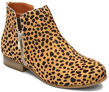 Load image into Gallery viewer, Eric Michael Lynx Ankle Bootie Baby Cheetah