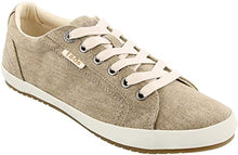 Load image into Gallery viewer, TAOS Star Sneaker Khaki Wash Canvas