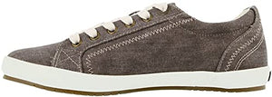 TAOS Star Sneaker Chocolate Wash Canvas