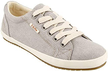 Load image into Gallery viewer, TAOS Star Sneaker Grey Wash Canvas