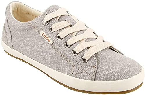 TAOS Star Sneaker Grey Wash Canvas