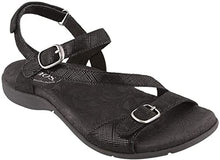 Load image into Gallery viewer, TAOS Beauty 2 Sandal Black Printed Leather